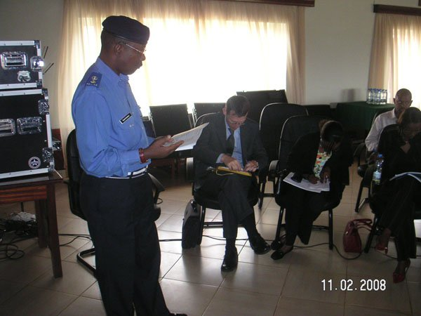 Strategy workshop for Rwanda National Police